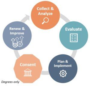 Program Review Process Graphic